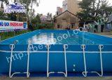 Bể bơi lắp ghép – KT: 8.1m x 18.6m cao 1.2m