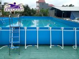Bể bơi lắp ghép – KT: 9.6m x 20.1m cao 1.2m
