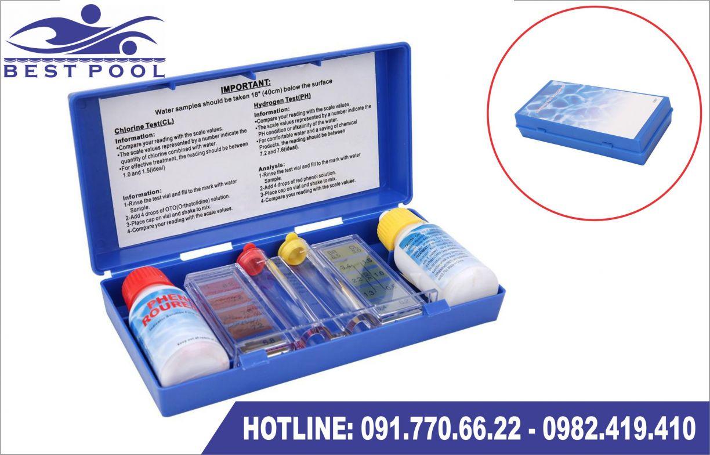 Bộ test PH nước bể bơi lắp ghép di động