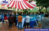 Bể bơi lắp ghép – KT: 6.6m x 14.1m cao 1.2m