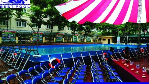 Hiệu quả bể bơi lắp ghép ở Quảng Ngãi