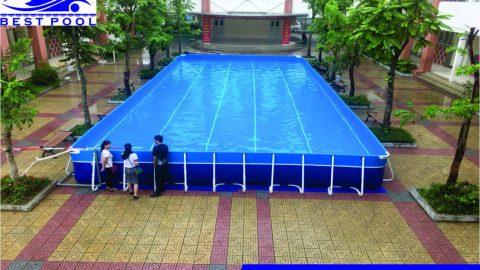 Bể bơi lắp ghép Ninh Bình