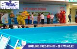 Bể bơi lắp ghép – KT: 15.6m x 24.6m cao 1.2m