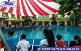 Bể bơi lắp ghép – KT: 12.6m x 29.1m cao 1.2m