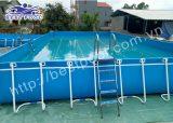 Bể bơi lắp ghép – KT: 8.1m x 20.1m cao 1.2m