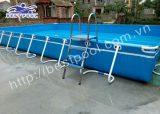 Bể bơi lắp ghép – KT: 8.1m x 15.6m x 1.2m