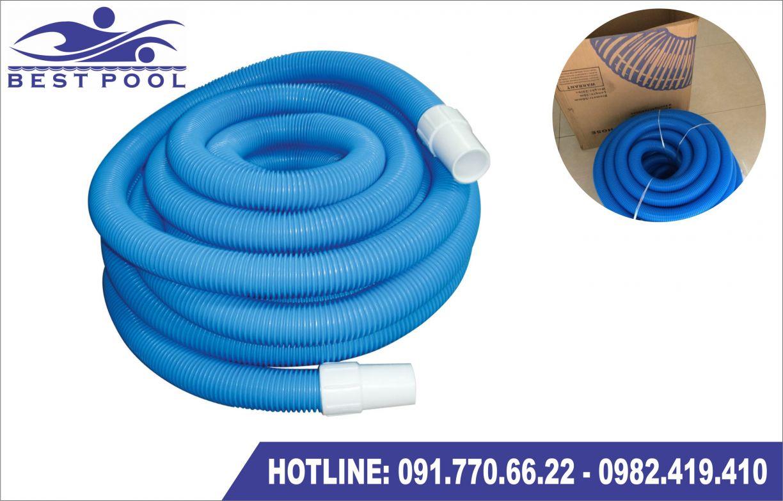 ống mềm tự nổi vệ sinh bể bơi lắp ghép di động