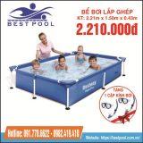 Bể bơi Bestway 56401_ Kích thước : 2.21m x 1.50m x 0.43m
