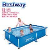Bể bơi Bestway 56424  – KT: 4m x 2.11m x 81cm (dạng chữ nhật)