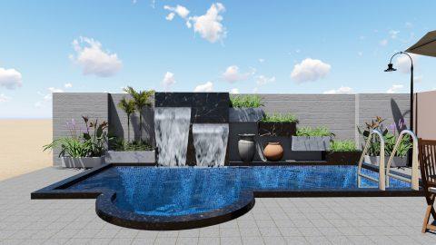 Bể bơi gia đình ở Thái Bình