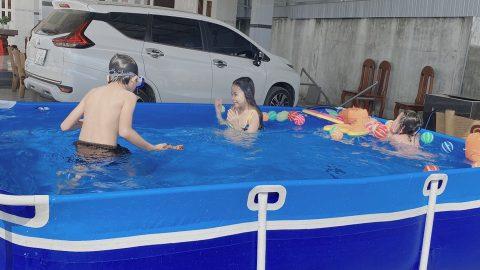 Sản xuất hồ bơi cho bé chất lượng