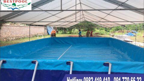 Hồ bơi lắp ráp Nam Định