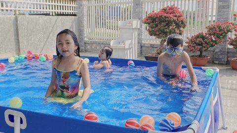 Chi phí hồ bơi cho bé