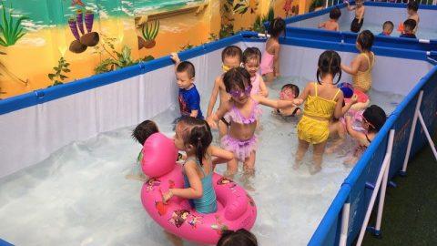 Bể bơi cho trường mẫu giáo