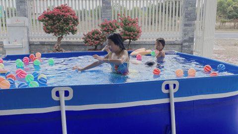 Kích thước hồ bơi mini thông dụng