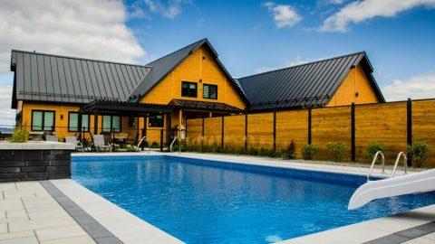 Bể bơi gia đình tại Long An