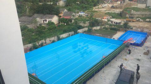 Bể bơi gia đình anh Thảo Lạng Sơn