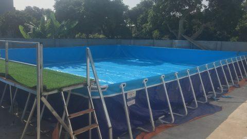 Quy trình sản xuất bể bơi lắp ghép