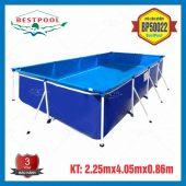 Bể bơi mini kt 2,25m x 4m05 x 86cm