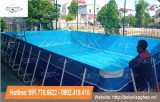 Bể bơi kinh doanh lắp ghép thông minh KT 6.6×9.6×1.2
