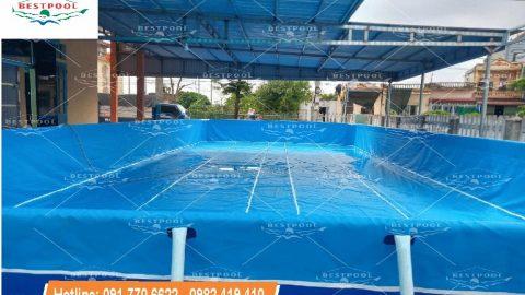 Bể bơi thông minh tại Nam Định KT 6.6m x 12.6m x 1.2m