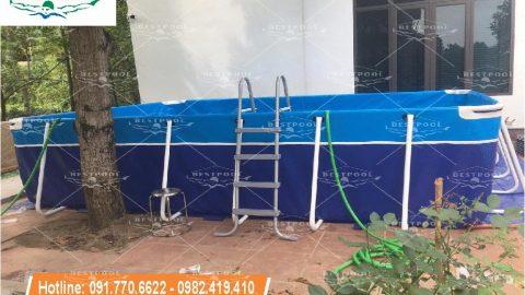 Bể bơi thông minh Vĩnh Phúc KT 3.6m x 5.1m x 1.2m
