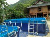 Bể bơi lắp ghép thông minh KT 5.1m x 9.6m x 1.2m