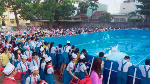 Bể Bơi Lắp Ghép Trường Học
